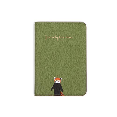 绿色小熊猫