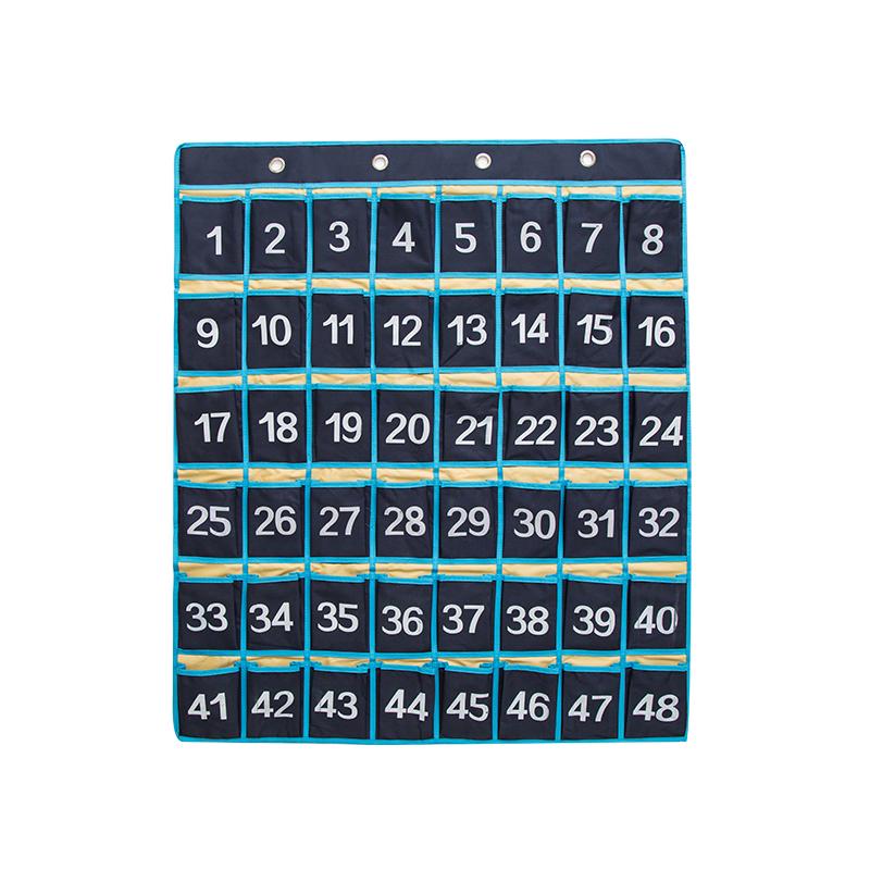 藏青色48格