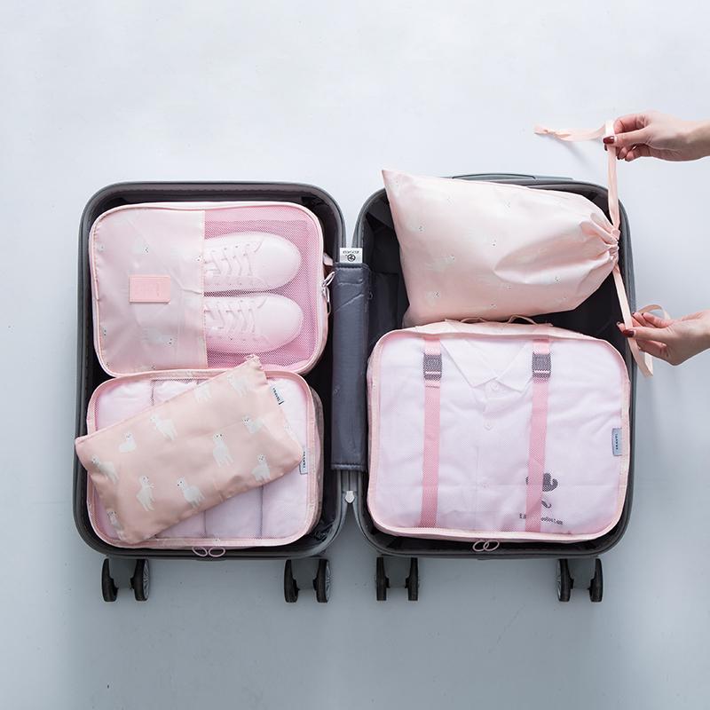 粉色羊驼5件套