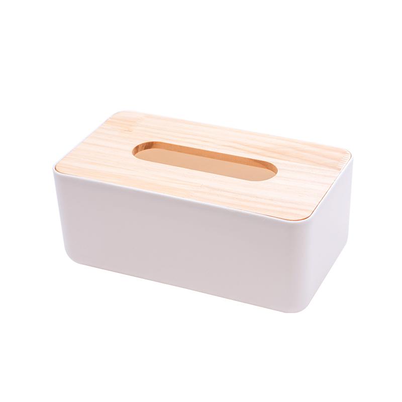 大号白色纸巾盒