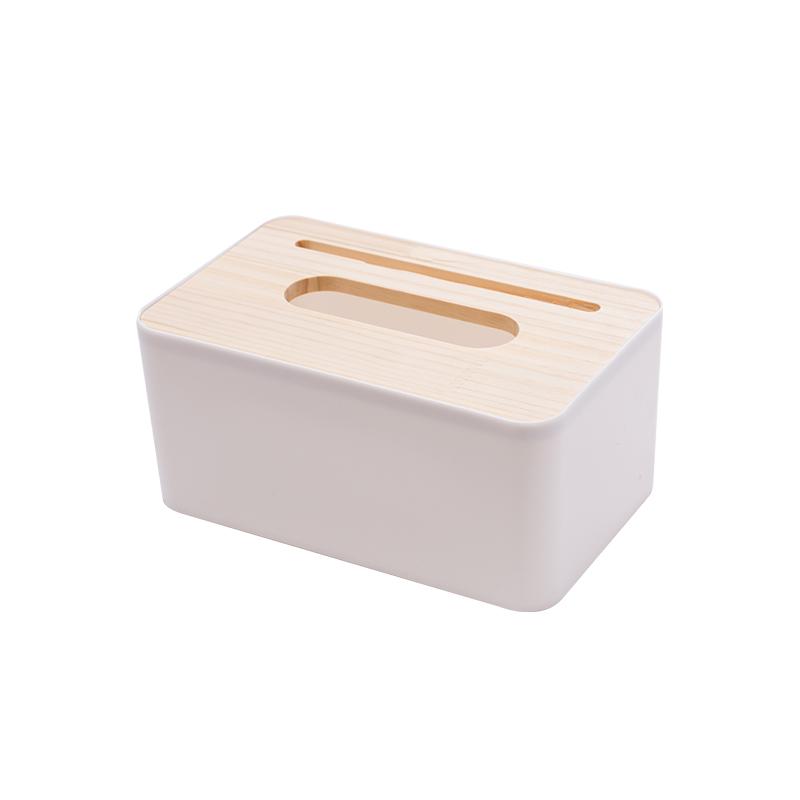 方形单格手机槽纸巾盒