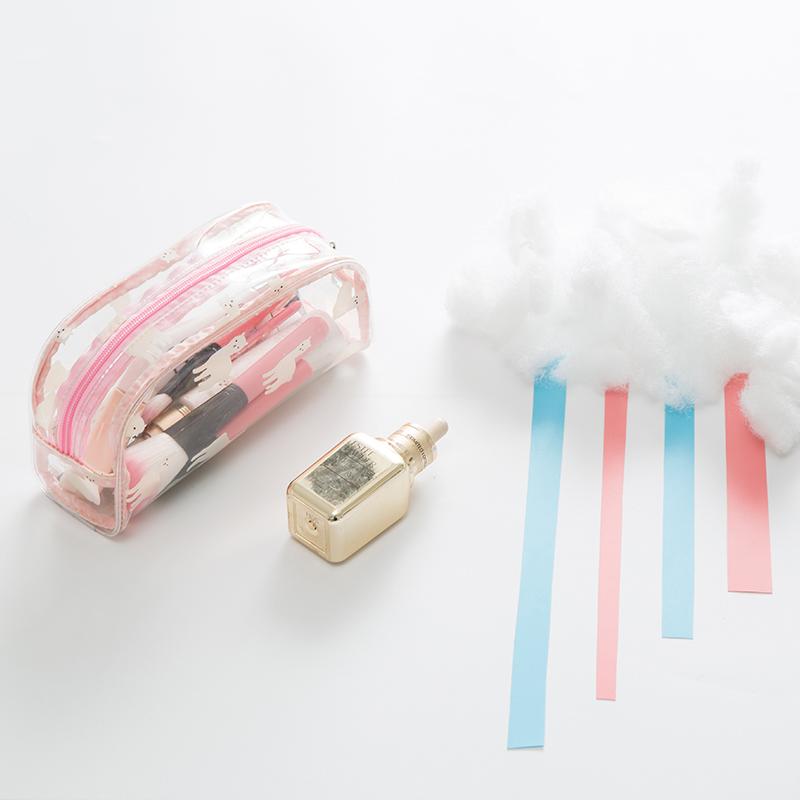 粉色羊驼椭圆形包