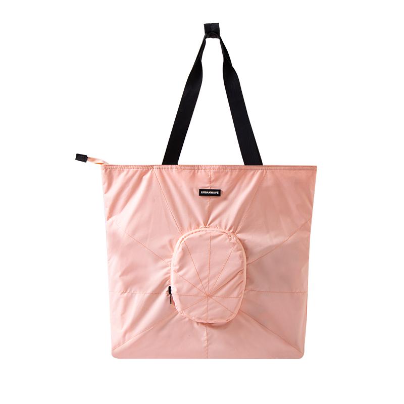 樱花粉托特包