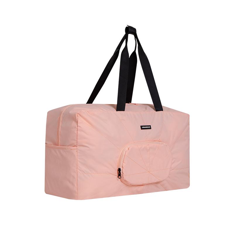 樱花粉旅行包