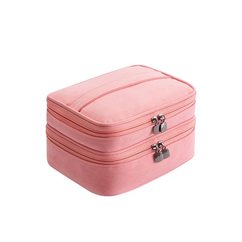 双层 粉色