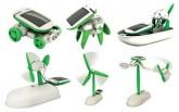 特价 DIY太阳能六合一玩具