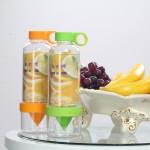 特价 木晖  柠檬杯 瘦身神器 多功能水果榨汁杯 二合一水瓶 能量杯-绿色