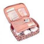 高品质 便携式旅行套装洗漱包出差旅游必备女士防水收纳袋化妆包(全检)