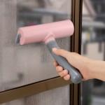 日本木晖 神奇纱窗专用清洁刷 玻璃刮