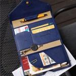 donbook正品韩国 多功能气质超薄软皮短款护照包 男女旅行证件包(035)