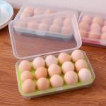 冰箱厨房15格鸡蛋食物保鲜收纳盒 塑料盒子