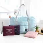 法蒂希iconic大容量折叠式旅行单肩手拎包防水衣物收纳包购物包