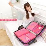 特价!韩版旅行收纳袋组合 大容量多功能收纳包 防水整理袋五件套