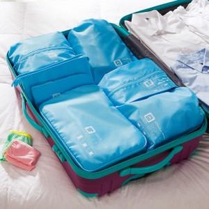 木晖 差旅分类旅行收纳 衣物收纳套装  七件套