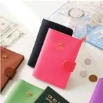 皇冠Jamstudio 甜美搭扣护照套 防消磁护照夹