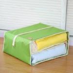 特价 木晖牛津布悬挂折叠式收纳袋 整理袋 衣柜收纳挂袋