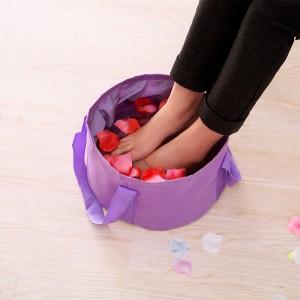 旅行用折叠水盆加厚大容量洗脚泡脚便携优质水桶旅游必备洗漱用品