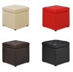 特价 木晖 皮革沙发凳 单人换鞋凳 储物凳 收纳凳