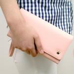 特价正品Donbook 甜美皇冠腕带手拿包 高级PU皮长款钱包 女士手机包(021)