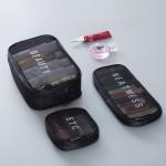 收纳包网眼透气化妆包数码收纳整理包旅行便携药包韩国