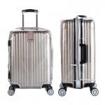 PVC保护套拉杆箱行李箱套透明无需脱卸26寸32寸30寸拉链式加厚