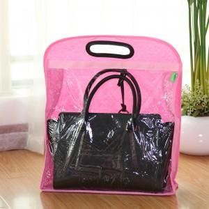 日本木晖 收纳袋衣橱储物袋防尘袋 皮包挂袋衣柜创意收纳挂袋   WL号
