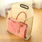 日本木晖 收纳袋衣橱储物袋防尘袋 皮包挂袋衣柜创意收纳挂袋   WS号