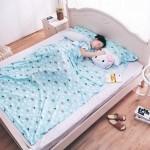 纯棉酒店隔脏睡袋成人室内旅行便携式床单双人旅游宾馆用品