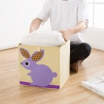 特价超可爱百搭可折叠有机棉可爱卡通收纳箱