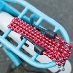 自行车行李绳捆绑绳 山地车捆扎带货架松紧绳自行车装备配件