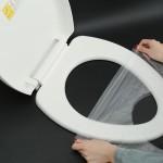 一次性马桶垫坐垫纸加厚旅行旅游孕产妇坐便套防水防菌座厕纸50片