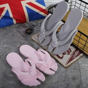 旅游旅行拖鞋折叠男女士情侣浴室防滑人字拖游泳洗澡出差便携拖鞋