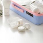 按压式乳液分装盒迷你洗手液收纳盒旅行便携随身皂液盒乳液器小样