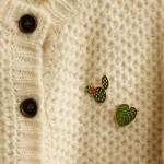 韩国可爱创意金属毛衣胸针男女情侣别针单枚入
