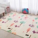 婴博氏XPE可折叠宝宝爬行垫爬爬垫儿童 婴儿加厚家用客厅游戏地垫防潮垫