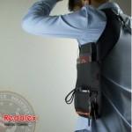法蒂希 Redalex 隐藏式腋下双肩挎包 防盗手机包