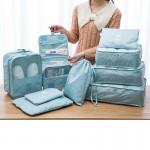 旅行收纳袋内衣行李鞋子收纳袋防水旅游整理袋衣物衣服收纳包套装