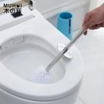 马桶刷套装不锈钢长柄洗厕所刷子卫生间洁厕刷无死角坐便器清洁刷