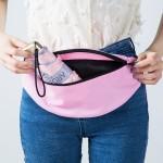 户外贴身防盗腰包收银包手机包运动腰包单肩斜跨包