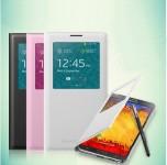 三星note3手机壳note3手机保护套note3手机套 韩国智能皮套