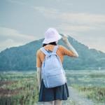 双肩包户外运动登山包旅游旅行背包书包便携折叠轻便皮肤包男女