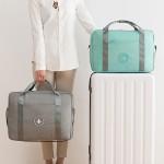 旅行包女休闲轻便折叠小行李包短途大容量旅游收纳包手提包商务