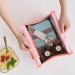 手提便当包 简约时尚百搭冰包 防水保温包带饭袋子饭盒袋小拎包