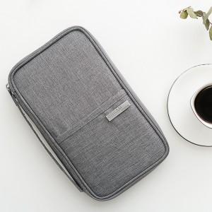 旅行护照包 出国旅行证件包袋 阳离子手拿包防水防尘便携卡包