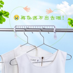 塑料晒衣服大夹子晾衣杆防风卡扣 家用晾衣夹晾晒夹固定扣小衣架