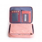 证件收纳包 居家庭用大容量多功能护照票据文件户口本整理袋