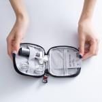 耳机收纳包数据线收纳盒充电器零钱U盘U盾防震大小迷你便携
