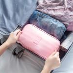 旅行衣服收纳袋内衣包旅游便携内裤收纳包文胸包多功能衣物整理袋