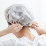 EVA防水浴帽成人女款洗澡头发罩淋浴头套帽子发套防油烟发帽