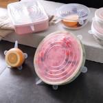 食品级硅胶保鲜盖万能碗盖密封膜盖子家用多功能通用